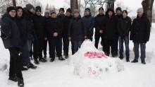 Конкурс снежных фигур «Студенческие импровизации»