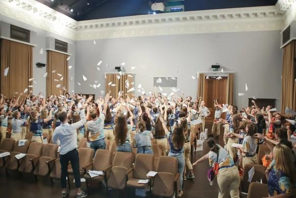 В «Артеке» прошел детский полуфинал конкурса «Доброволец России – 2019»