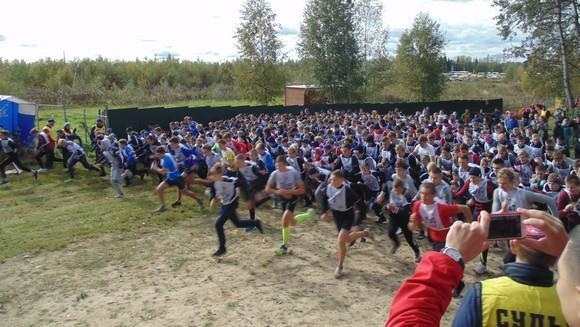 Всероссийский день бега «КроссНаций2019»