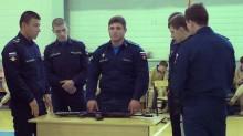 Проверка армейских навыков студентов педколледжа