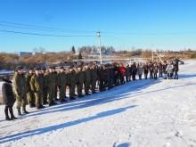 Марш-бросок команд Воздушно-десантных войск